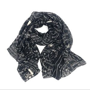 Jean-Michel Basquiat scarf MOMA limited edition